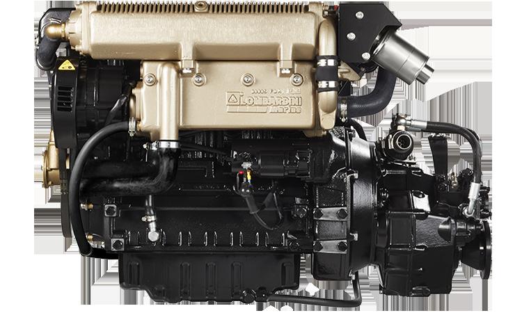 Lombardini LDW2204MT 87 hp.