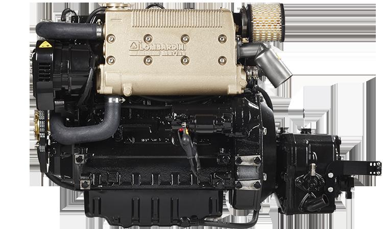Lombardini LDW2204MT 50 hp.