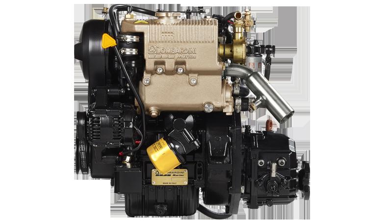 Lombardini merimoottori 11 hv.